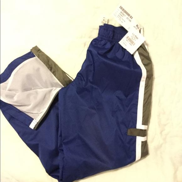 13dcb18f1d6 NWT L.L Bean Boys royal blue Athletic Pants 12